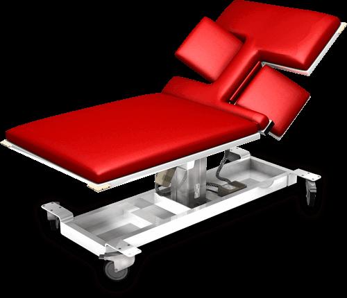 Cardiac ultrasound table