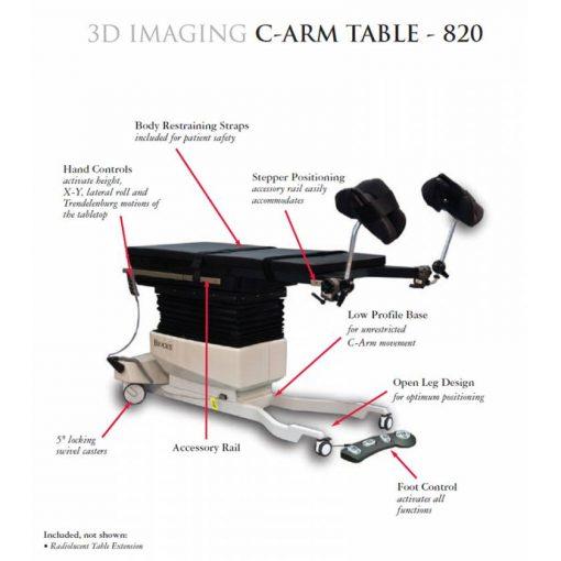 Urology C-arm Table